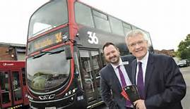 Alex, Andy, and Vitto, Electrifying Harrogate With Super Buses.