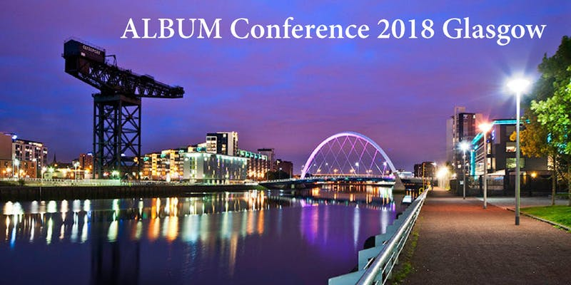 Roll Up, Roll Up, The ALBUM Conference Glasgow is Looming Large