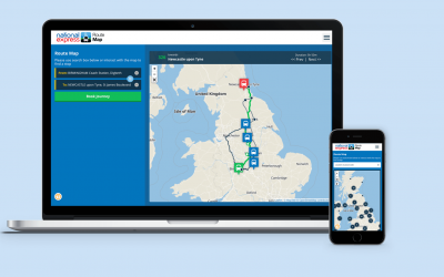 New! National Express product – Route Map