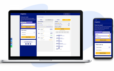 uTrack release CoachTracker for Megabus UK